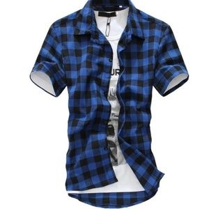 Other - Mens plaid shirt